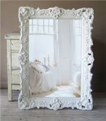 vintage dresses mirror and shabby chic on pinterest antique dresser framed leaning mirror shabby chic