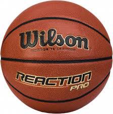 <b>Мяч баскетбольный Wilson Reaction</b> PRO коричневый цвет ...