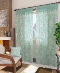 <b>Комплект штор</b> «<b>Лакона-К</b> (зеленый)» | Curtains by <b>TOMDOM</b> ...