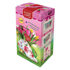 <b>Чайный набор Hilltop Яркие</b> тюльпаны, Подарок Цейлона ...