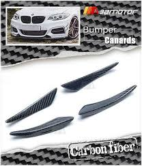 Carbon Fiber Front Bumper Canard <b>4 PCS</b> Set <b>for BMW F22</b> 2 ...
