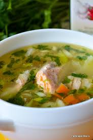 Суп из сёмги • домашний рецепт. С фото!