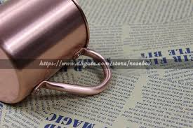 Supports Customized <b>450ml Retro</b> Pure Copper Cup With Handle ...