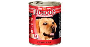 <b>Зоогурман BIG DOG</b>, <b>консервы</b> для собак, Говядина, 850 г - купить ...