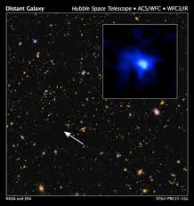 astronomers set a new galaxy distance record nasa