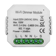 <b>Умный Wi</b>-<b>Fi</b> микромодуль диммер одноканальный Ya-D01-TRIAC