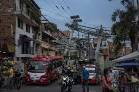 medellin medellin fragile future for the miracle santo domingo metro cable in comuna 1 the first of several transformation projects