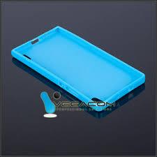 BACK CASE COVER GEL TPU HUAWEI ASCEND P7 BLUE 29002 ...