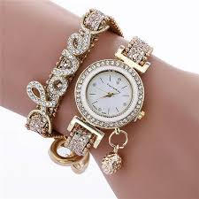 Relojes Mujer Braided Leather <b>Bracelet Watch Women</b> Crystal Inlay ...