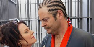 Nick Offerman with beautiful, Wife Megan Mullally