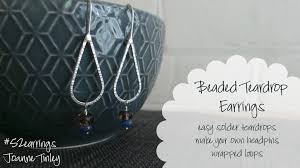 beaded teardrops earrings learn how to make headpins ered beaded teardrops earrings learn how to make headpins ered teardrops joanne tinley skillshare