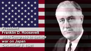 world war ii the homefront lessons teach president franklin d roosevelt declares war on 8 1941