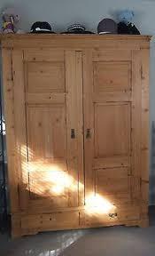 antique english pine armoire cupboard storage c1800s authentic original antique english pine armoire
