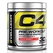 Cellucor C4 <b>Pre</b>-<b>Workout</b> 195 г купить Спортивное питание в ...