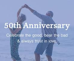 50th Anniversary Gifts for Golden <b>Wedding Anniversaries</b>