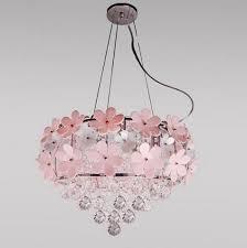 daisy chandelier pink flower chandelier lighting bedroom chandelier lighting