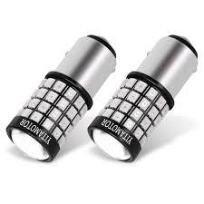 YITAMOTOR Flashing Brake Lights <b>1157</b> 7528 LED Bulb Red for ...