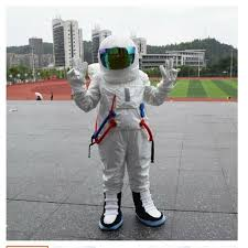 cosplay costumes Adult and Kids size Spaceman <b>Mascot Costume</b> ...