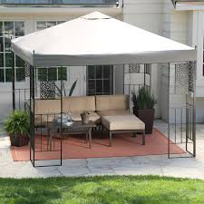 portable patio gazebo i ts aluminum gazebo canopy canopies at hayneedle