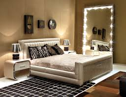 ideas italian furniture for small spaces featuring elegant silver faux leather upholstery queen bed frame above black squares pattern rugs and chrome black and chrome furniture