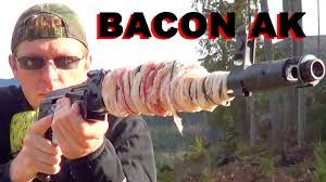 Image result for machine gun bacon