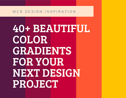 40+ <b>Beautiful Color Gradients</b> For Your Next Project on Behance