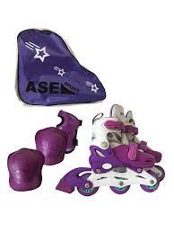 Роликовые наборы: сумка, ролики, защита ASE-sport 7948567 в ...
