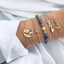 <b>5pcs</b>/<b>set</b> Bohemian Handmade Peace Love Turtles Bracelet – Save ...