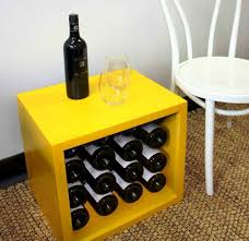 Home Decoration Material Decoration Stylish Wine Rack Cube Storage Suitable For Chic Home