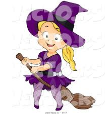 Image result for happy witch riding broom