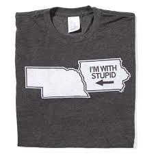 <b>I'm With Stupid</b> T-Shirt – RAYGUN