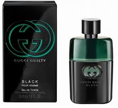 <b>Gucci Guilty Black Pour</b> Homme EdT 50ml in duty-free at bordershop ...