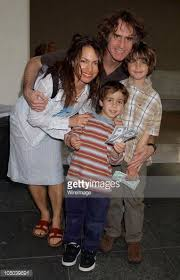 Susanna Hoffs, husband Jay Roach and sons Sam and Jackson ...
