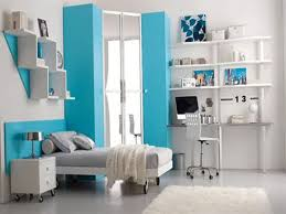 captivating teenage girl bedroom ideas with light blue covered bed cute interior mixed white wall paint captivating awesome bedroom ideas
