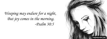 Image result for psalm 30 5