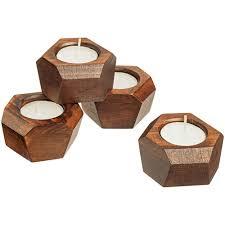 <b>Набор подсвечников</b> Wood Job - купить на 4kraski.ru