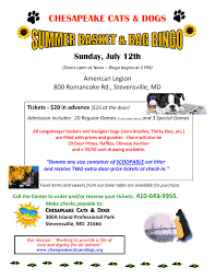 chesapeake cats and dogs bingo flyer summer page 001