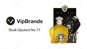 <b>Shaik Opulent</b> Classic <b>No 77</b> 100 ML Men Perfume Review ...