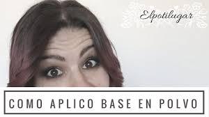 Como aplico base de maquillaje en polvo - <b>Total Finish</b> de <b>Kanebo</b> ...