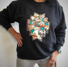 Native American Indian Southwestern Shirt Aztec Navajo <b>Ethnic</b> ...