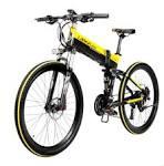 <b>LANKELEISI XT750 26Inch 27</b> Speeds Folding Pedal Assist Electric ...