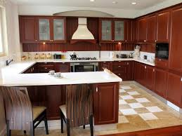 u shaped kitchen with peninsula faucet pendant lamp pull out faucet under cabinet lighting white tile cabinet lighting backsplash home