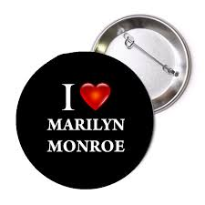 I Love <b>Marilyn Monroe</b> Pinback Button 1.25 <b>1 Pc</b> | BalliGifts.com
