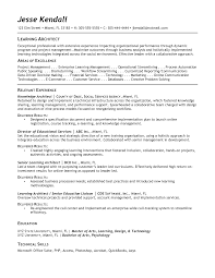 best architect resume sample resume network architect resume exle for job