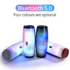 TG165 <b>Portable Bluetooth</b> Speaker Stereo Leather Column 5 Flash ...