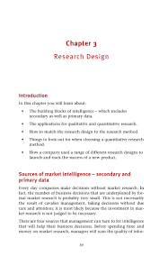 practical guide to market research 41 mation