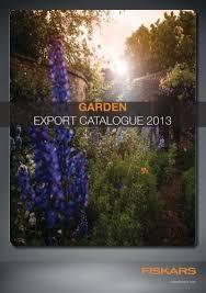 Garden EXPORT CATALOGUE 2013