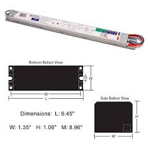 fc12t5 ho ballast t5 electronic fluorescent 1 or 2 lamp 120v 277v T12 Ho Ballast Wiring Diagram fc12t5 ho ballast t5 electronic fluorescent 1 or 2 lamp 120v 277v t5 ballasts 55w 2 Lamp T12 Ballast Wiring Diagram