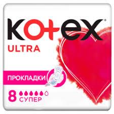 «<b>Прокладки гигиенические</b> Kotex <b>ultra</b> Супер, 8 шт ...
