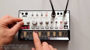 Бас <b>синтезатор KORG VOLCA BASS</b> (sounds, review, making ...